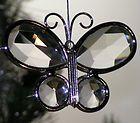 Butterfly Glass Jewel Collectible SunCatcher Ornament
