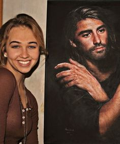 Akiane Kramarik- Child Art Prodigy    Born to Atheists in Illinois, Akiane's parents converted to Christianity when their daughter announced that her realist art, which she began making at age four, was inspired by visions from God. Featured on Oprah at age 10 and on CNN at 12, the now 18-year-old sells her paintings for millions. Did we mention she's also a talented poet?    Image via ArtAkiane. Her website has more of her story and artwork and videos of her painting process. Wow!