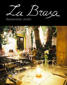 restaurant jardin la brasa in Eivissa town - Good food and lovely ambiance. A real hotspot!