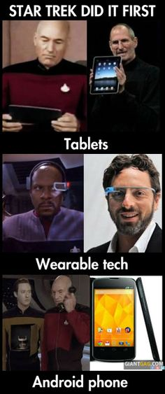 Star Trek Did It First, click the link to view more funny pictures !