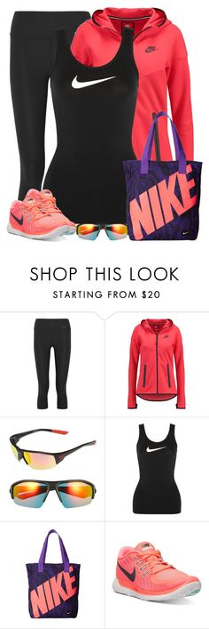 """Nike"" by cindycook10 ❤ liked on Polyvore featuring NIKE"