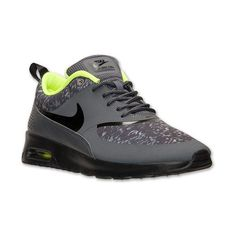 Women's Nike Air Max Thea Print Running Shoes ($80) ❤ liked on Polyvore featuring shoes, athletic shoes, nike, print shoes, nike footwear, patterned shoes, light weight shoes and running shoes