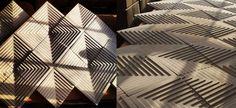 Herringbone gyspum - 3d wall art tile custom