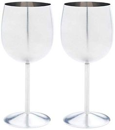 BNFUSA KTWGLS 2 Piece Stainless Steel Wine Goblet Set NA ** You can find more details by visiting the image link.