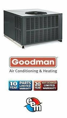 5 Ton 13 Seer Goodman 140,000 Btu 80% Afue Gas Package Air Conditioner - GPG1360140M41 by Goodman. $2779.00. 2 Stage Air Conditioner with Horizontal/Downflow Supply/Return (R-410A) Gas Heat Package Air Conditioner is an all-in-one Heating and Air Conditioning unit including blower. Eliminates need for indoor air handler and copper lines.. Save 29% Off!