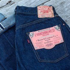 Freewheelers 601xx 1951. (made in japan, desolation row, selvage, jeans)