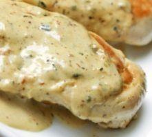 Chicken Breast with Tarragon-Mustard Cream Sauce (South Beach Phase 1 Recipe) | Diet Plan 101