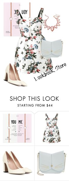 """""""dress"""" by masayuki4499 ❤ liked on Polyvore featuring Dogeared, Valentino, Ted Baker and Thalia Sodi"""