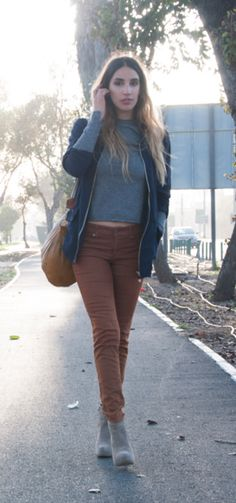 Karen Or, Israeli fashion blogger for Street Chic Tel Aviv, using the Pick My Style fashion app