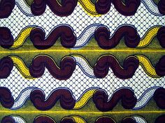 Julius Holland African wax print fabric BY THE YARD by ChilliPeppa, £6.50