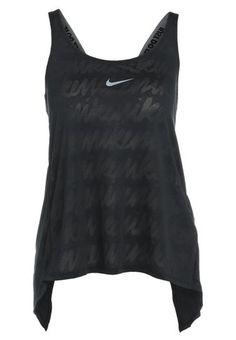 457307e98d69e DRY TANK ELASTIKA - Sportshirt - black black cool grey   Zalando.be 🛒