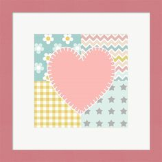 Beth Grove 'Baby Quilt I' Framed Wall Art
