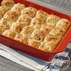 Zesty Tomato Herb Monkey Bread makes a delicious side for dinner! Use Pillsbury™ Hot Roll Mix to make this recipe.