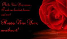 145 best happy new year my love 2019 images on pinterest in 2018 new year love wishes for her greeting card m4hsunfo