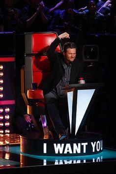 Blake Shelton #The Voice - Season 4