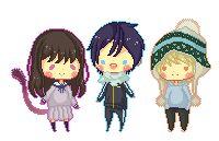 תוצאת תמונה עבור noragami yukine tumblr pixel