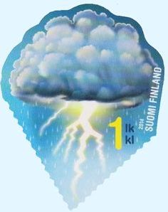 Stamp: Lightning (Finland) (Signs of the sky) Mi:FI Colnect, connecting collectors. Only Colnect automatically matches collectibles you want with collectables other collectors swap. Colnect collectors club revolutionizes your collecting experience! Stamp Collecting, Science And Nature, Postage Stamps, Finland, Lightning, Natural, Seals, The World, Paper Envelopes