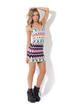 Moroccan Dress (Made To Order) by Black Milk Clothing (Instore piece)