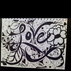 Love doodle by sherry