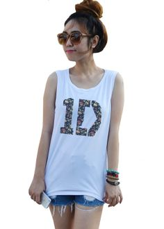 1D One Direction Flower Punk Indie Rock Vintage Unisex by dazztees, $14.99