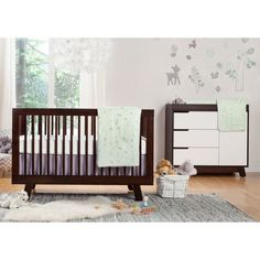 Babyletto Hudson 3 In 1 Convertible Crib W Toddler Bed Conversion Kit
