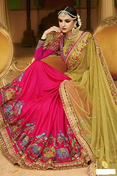 Elysian Red Color Saree For Karva Chauth—$88.10(Save 10%!) Latest good looking designer elysian red color saree for karva chauth. Surely this Indian ethnic wedding wear saree give a comfortable l…