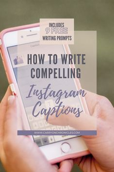How to Write Compelling Instagram Captions • The Carry-On Chronicles
