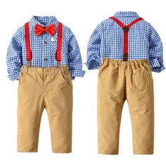 School Must Haves, Tie Set, New Year Gifts, Toddler Outfits, Bad Boys, Latest Fashion Trends, Christmas Donuts, Overalls, Dress Up