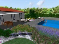 Proposta piscina esterna, laghetto e sistema d'irrigazione Udine