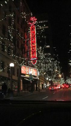 5th ave. theater Downtown Seattle