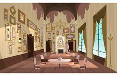 Mais cenários criados para Eliot Kid, da francesa Samka Productions   THECAB - The Concept Art Blog