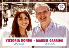 Con Manuel Garrido, segundo en la lista