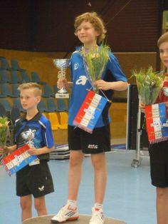 Elwin Huiden, aangesloten bij de TTSD, wint ongeslagen de jongens pupillen NJM in 2014.