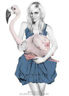 BLOG DA REGBIT- Regina Bittencourt: Para VER 2012 ilustradora Kelly Smith muito chique....