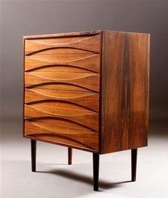 Arne Vodder. Chest of drawers