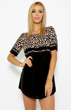 PEPPERMAYO  Cheetah Tunic - Print  $50 yes please