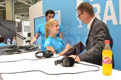 Jörg Aebischer (Geschäftsführer ICT-Berufsbildung Schweiz) kurz vor seinem Interview!