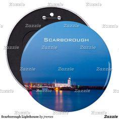 Scarborough Lighthouse Pinback Button