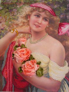 Gallery.ru / Работа Шахворостовой Ирины - Вышитые принты - neserchay