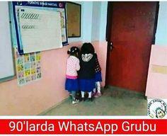 90'larda WhatsApp Grubu