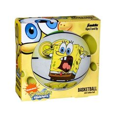 Franklin Sports Nickelodeon SpongeBob SquarePants Mini Rubber Basketball #5480 by Franklin Sports. $12.15. From the Manufacturer                Our Mini Rubber Basketball features durable high tack rubber cover with polyester winding for excellent shape retention. It has long lasting air retention bladder. It's smaller size makes this basketball easy for the younger children to catch and throw. Fun graphics!                                    Product Description          ...