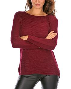 French Code Pullover Mina (bordeaux)