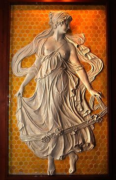 Ceramic muse from Sutro Baths, now displayed in the Cliff House