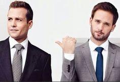 suits, mike, and gabriel macht image Harvey Specter, Specter Suits, Suits Tv Series, Suits Tv Shows, Gabriel Macht, Mike Suits, Suits Harvey, Patrick J Adams, Donna Paulsen