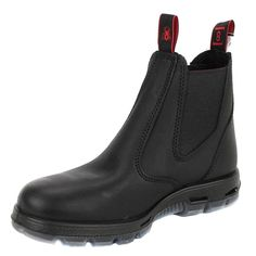 0d1425dc67ad Redback The Easy Escape Slip-On Black Leather Boots USA Sizes UBBK  fashion