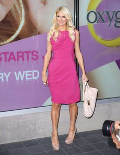 Paris Hilton At Oxygen Network in Santa Monica May 27-2011