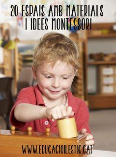 20 espais amb materials i idees Montessori