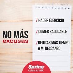 No más excusas, empieza hoy a cumplir tus propósitos del año