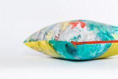 68$ Coussin Thais Lacoste-Frémont velours coloré par Fotofibre sur Etsy  Unique cushion with french quote.