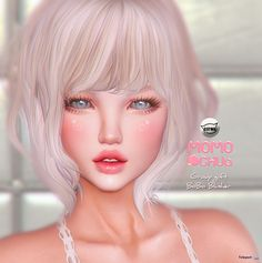 BoBo Blusher Applier HUD For CATWA Head Group Gift by MOMOCHUU